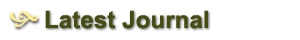Our Latest Journal