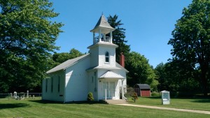 A country chapel and cemetery are tangible reminders of the once vibrant Roberts Settlement in Hamilton County.