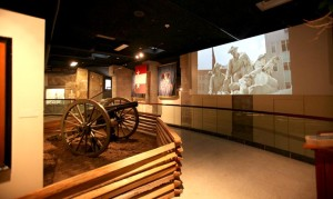 The museum depicts Indiana's role in the Civil War on the home front and the battlefield. Photo courtesy of Colonel Eli Lilly Civil War Museum.