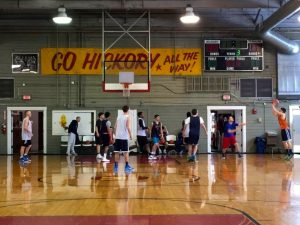Basketball teams in search of inspiration can rent out the Hoosier Gym for practice. The old Knightstown gym served as home court for the Hickory Huskers in the 1986 movie Hoosiers.