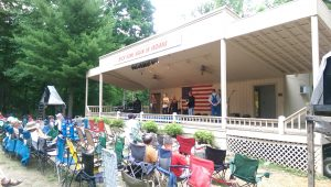 The Bean Blossom Bluegrass Festival is the oldest, continuously running bluegrass festival in the world, held every June at the Bill Monroe Music Park & Campground.
